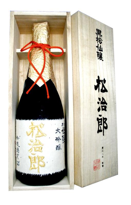 黒松仙醸 大吟醸 松治郎 720ml