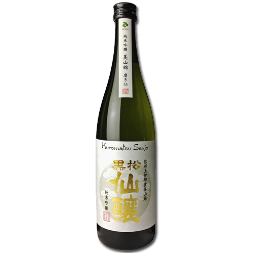 純米吟醸 美山錦 磨き55 720ml 黒松仙醸【日本酒】