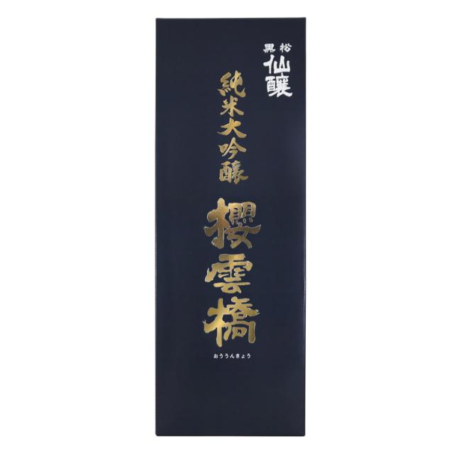 桜雲橋1800ml箱