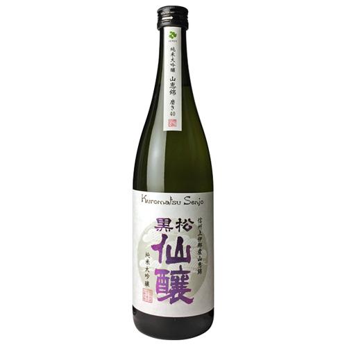純米大吟醸 山恵錦 磨き40 720ml 黒松仙醸【日本酒】