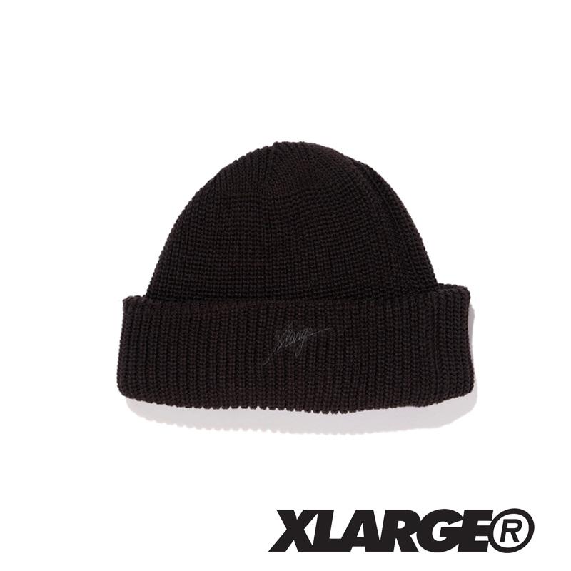 X-LARGE エクストララージ  EMBROIDERY CUFF BEANIE 01183007 カフビーニー ニット帽 帽子 メンズ 正規取扱店 XLARGE