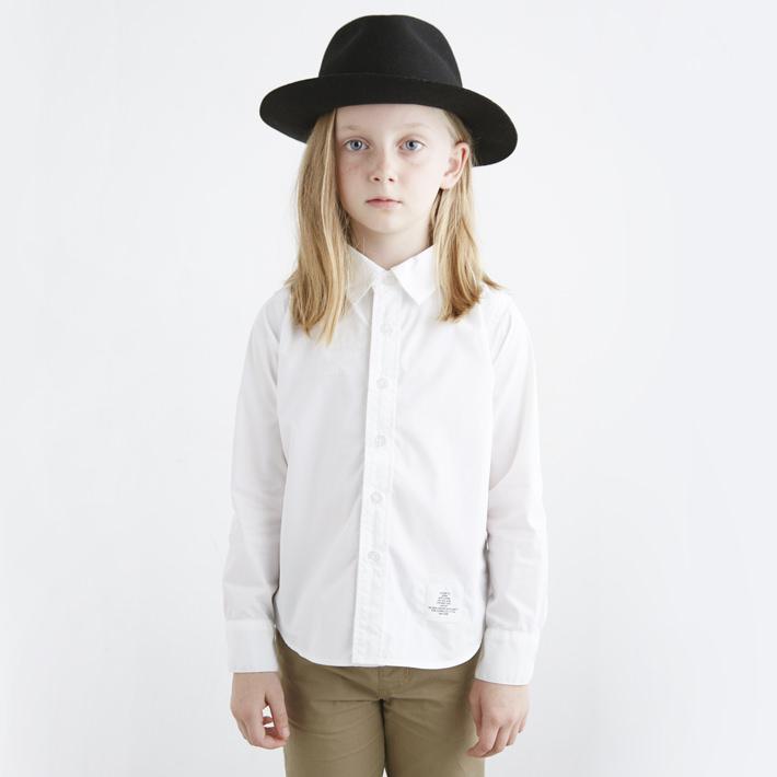 【正規取扱店】SMOOTHY(スムージー)01SH-01  ホワイトシャツ 入学・入園 キッズ 子供服