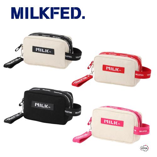 ミルク フェド 通販 バッグ ポーチ ポンチョ