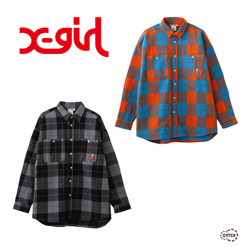 XGIRL 通販 店舗 シャツ ハット