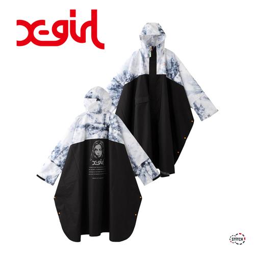 XGIRL 通販 かさ レインコート 雨具 エックスガール
