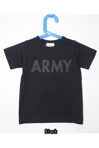 【ネコポス可】【正規取扱店】SMOOTHY(スムージー)ARMY TEE 15T-04 子供用Tシャツ