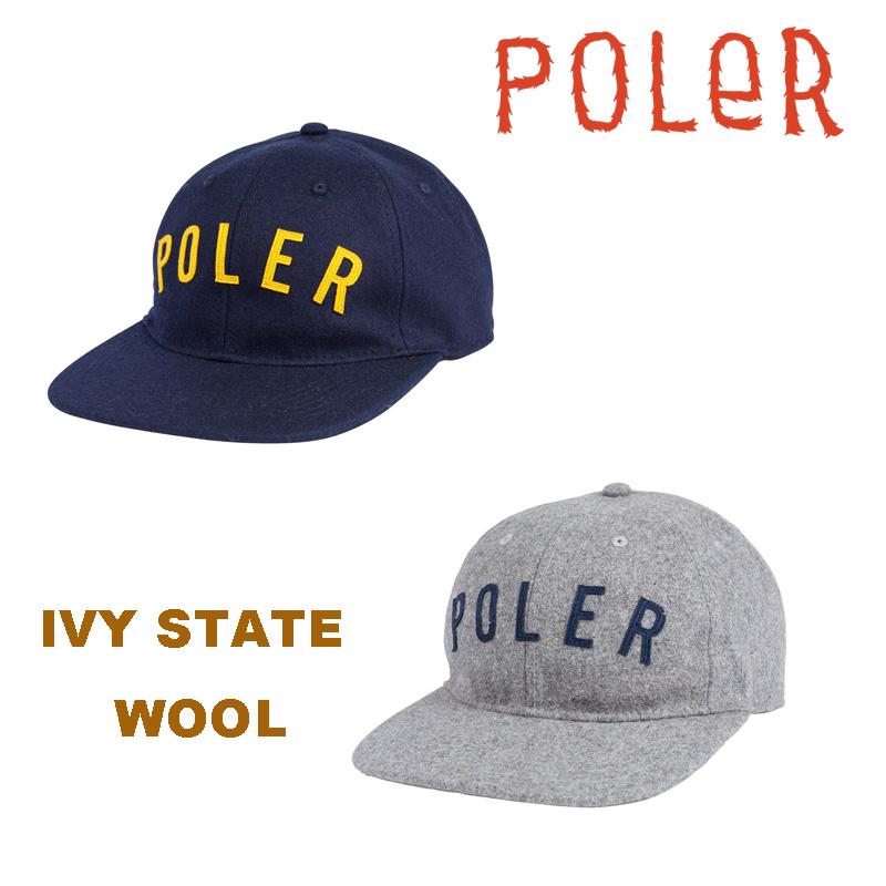 POLeR stuff(ポーラー) IVY STATE WOOL キャンプ アウトドア キャップ 帽子 正規取扱店