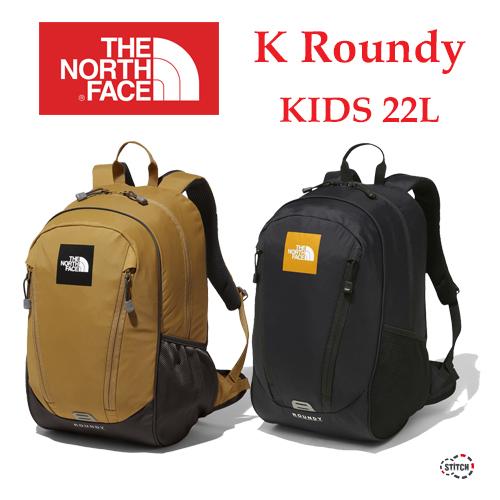 THE NORTH FACE  ザ・ノース・フェイス K Roundy NMJ71801 キッズ ラウンディ デイパック リュック 子供用 送料無料 正規取扱店