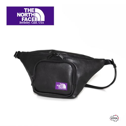 THE NORTH FACE PURPLE LABEL ザ ノースフェイスパープルレーベル Leather Waist Bag NN7055N ウエストバッグ ユニセックス 正規取扱店