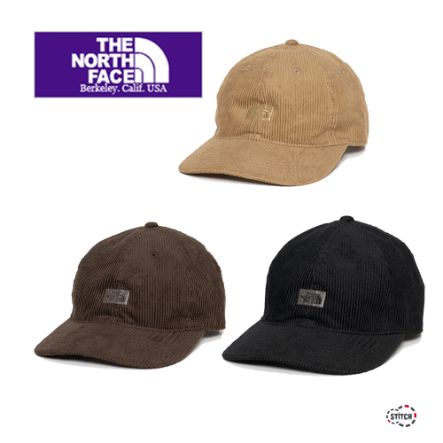 THE NORTH FACE PURPLE LABEL ザ ノースフェイスパープルレーベル Corduroy Field Cap NN8059N コーデュロイフィールドキャップ 帽子 ユニセックス 正規取扱店