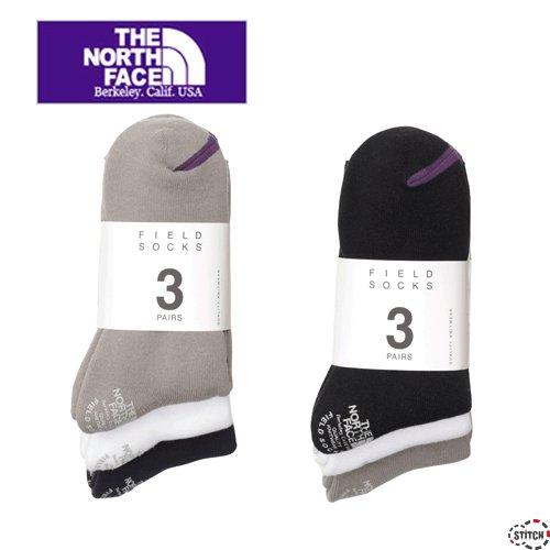 THE NORTH FACE PURPLE LABEL ザ ノースフェイスパープルレーベル Pack Field Socks 3P NN8962N パックフィールドソックス 3足セット ユニセックス 正規取扱店
