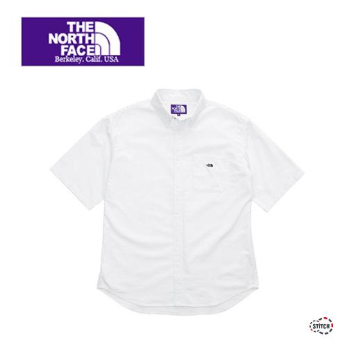 THE NORTH FACE PURPLE LABEL ザ ノースフェイスパープルレーベル Cotton Polyester OX B.D. Big H/S Shirt NT3010N ボタンダウンビッグシャツ 半袖 正規取扱店