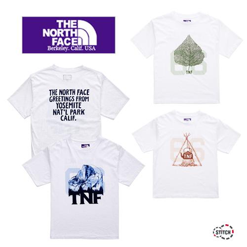 THE NORTH FACE PURPLE LABEL ザ ノースフェイスパープルレーベル 5.5oz Graphic H/S Tee NT3022N グラフィック Tシャツ 半袖 正規取扱店