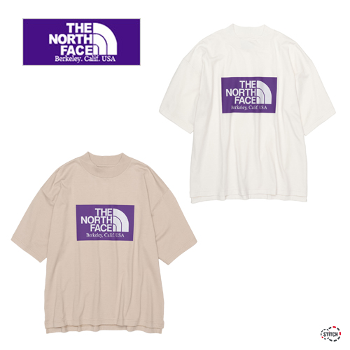 THE NORTH FACE PURPLE LABEL ザ ノースフェイスパープルレーベル High Bullky H/S Logo Mock Tee NT3113N 半袖Tシャツ メンズ ユニセックス 正規取扱店
