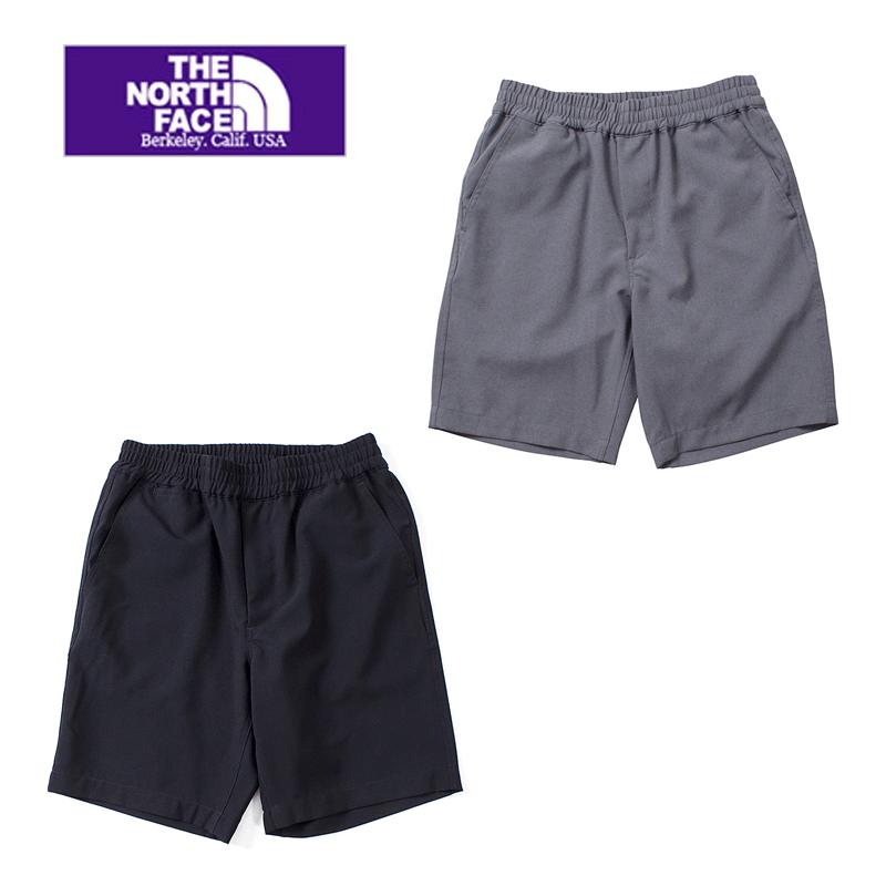 【SALE30%OFF】THE NORTH FACE PURPLE LABEL nanamica ザ ノースフェイスパープルレーベル Polyester Tropical Shorts NT4812N ショートパンツ メンズ