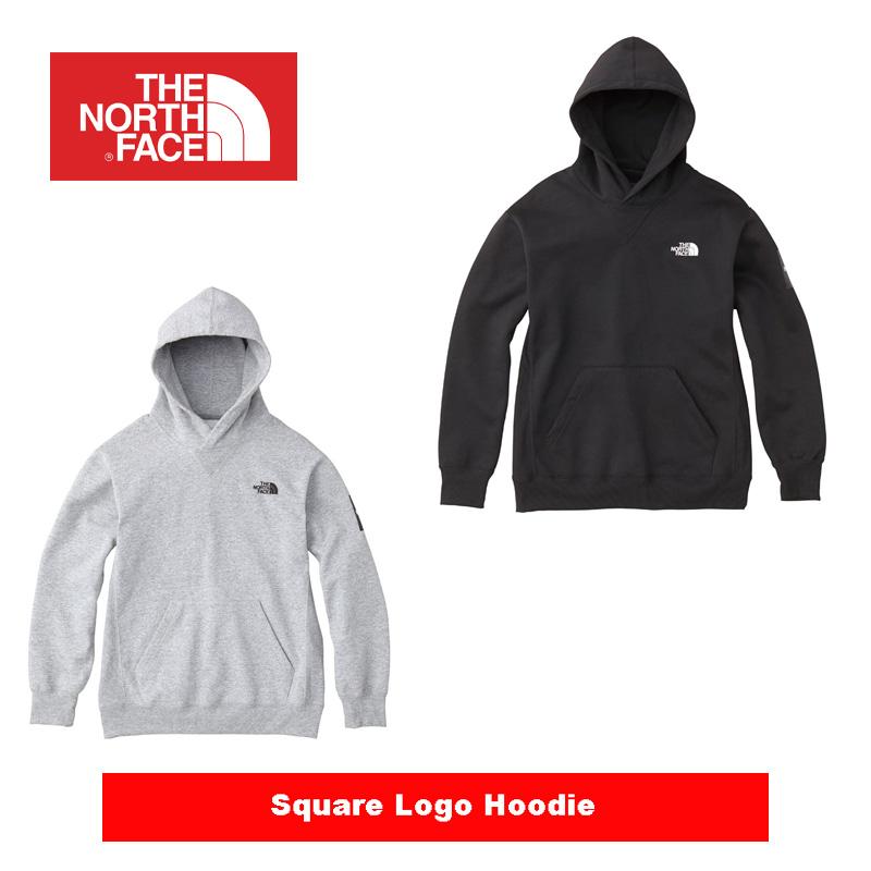 THE NORTH FACE  ザ・ノース・フェイス  Square Logo Hoodie NT61835 スクエアロゴフーディー メンズ パーカー 送料無料 正規取扱店