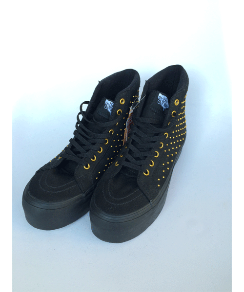 【SALE30%OFF】 [バンズ] SK8-Hi Platform スケートハイ VN-0RRF8SJ (Studded) Black/True