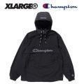 【X-LARGE(エクストララージ)×CHAMPION(チャンピオン)】 ANORAK PARKA 01173510 アノラック ナイロンパーカー  メンズ