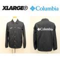 X-LARGE(エクストララージ)×Columbia(コロンビア)  VAUGHT RIDGE XL JACKET 01173513 コーチジャケット メンズ