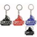 【ゆうパケット可送料205円】X-LARGE(エクストララージ) SLANTED OG RUBBER KEYRING 01181031 キーホルダー メンズ