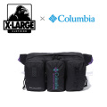 【X-LARGE(エクストララージ)×Columbia(コロンビア)】  VIPORRIDGE XL HIP BAG 01181034 ヒップバッグ