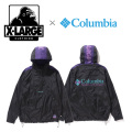 【X-LARGE(エクストララージ)×Columbia(コロンビア)】  SANTA ANA ANORAK 01181502 アノラックジャケット メンズ