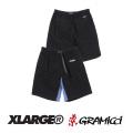 【X-LARGE(エクストララージ)×GRAMICCI (グラミチ)】 G-SHORT 01181704 ショートパンツ ベルト付 アウトドア  メンズ