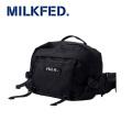 MILKFED ミルクフェド FANNY PACK BAR 03164034 ファニーパック  レディース 【正規販売店】