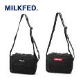 MILKFED ミルクフェド LOGO TAPE SHOULDER BAG 03173053 バッグ ショルダー レディース 【正規販売店】 送料無料