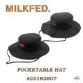 ミルクフェド 通販 帽子 ハット