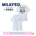 ミルクフェド 通販 店舗 バック Tシャツ