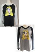 【SALE30%OFF】X-girl(エックスガール)XGIRL BAND B/B TEE 05164108 長袖Tシャツ