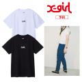 送料無料 X-girl エックスガール BASIC S/S REGULAR 2P TEE 05181115 2枚セット 半袖Tシャツ レディース XGIRL正規販売店