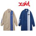 X-girl(エックスガール)PIT CREW HALF ZIP DRESS 05181906 ワンピース レディース