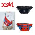セール X-gir l エックスガール #1 X-GIRL SK8 HIP BAG 05182003  ヒップバッグ ボディバッグ レディース