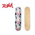 X-girl(エックスガール) #1 CHLOE SEVIGNY SKATEBOARD 05182026 スケートデッキ レディース