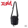 X-girl エックスガール ZIP LOGO SHOULDER BAG 05191005 ショルダーバッグ レディース 送料無料  XGIRL正規販売店