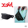 X-girl エックスガール ZIP LOGO HIP BAG 05191006 ヒップバッグ ボディバッグ ウエストポーチ レディース 送料無料  XGIRL正規販売店
