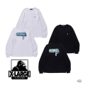 XLARGE エクストララージ L/S TEE BUFF 101203011055 バックプリント グラフィック  長袖Tシャツ メンズ 正規取扱店