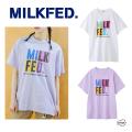 ミルクフェド 通販 レディース Tシャツ 店舗