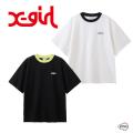 X-girl  エックスガール RINGER H/S TEE 105211013006 リンガーハーフスリーブティー Tシャツ レディース XGIRL 正規販売店