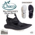 レディース  CHACO チャコ ウィメンズオデッセイ ブラック Ws ODYSSEY CHACOGRIP 12365251 サンダル ウィメンズ 正規取扱店