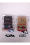 【SALE30%OFF】【ネコポス可】X-girl Stages(エックスガールステージス) SNOW PATTERN COLORFUL SOCKS 7月4日発売 子供用用靴下 キッズ ベビーソックス