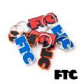 【ゆうパケット可送料205円】FTC(エフティーシー) RUBBER KEYCHAIN FTC018SPA07 キーチェーン キーホルダー スケートボード ストリート【正規販売店】