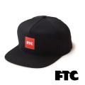 FTC(エフティーシー) OG BOX 5 PANEL FTC018SPH01 5パネルキャップ 帽子 スケートボード ストリート【正規販売店】