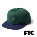 FTC(エフティーシー) CLASSIC LOGO 6 PANEL FTC018SPH03 6パネルキャップ 帽子 スケートボード ストリート【正規販売店】