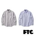 FTC(エフティーシー) OXFORD B.D SHIRT FTC018SPSH04 ボタンダウンシャツ スケートボード ストリート【正規販売店】