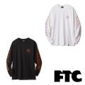 FTC(エフティーシー) DROWING FTC018SPT08 L/S TEE 長袖Tシャツ スケートボード ストリート【正規販売店】
