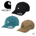 carhartt WIP カーハート ダブリューアイピー MADISON LOGO CAP I023750 ロゴキャップ  ツイル生地 6パネル ユニセックス 正規取扱店