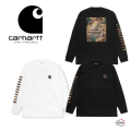セール carhartt WIP カーハート L/S Camo Mil T-Shirt I028464-20F 長袖 Tシャツ メンズ 正規取扱店 SALE